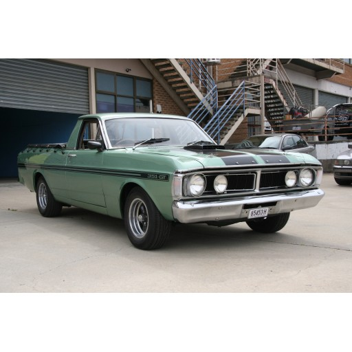 1972 FORD FALCON XY UTE (GT TRIBUTE)