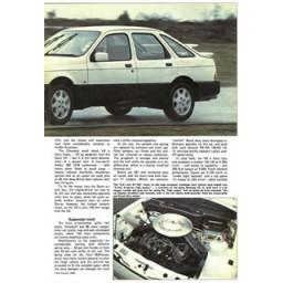 1984 FORD SIERRA XR8
